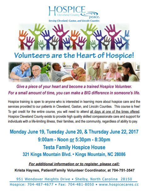hospice volunteer recruitment flyer templates pictures to
