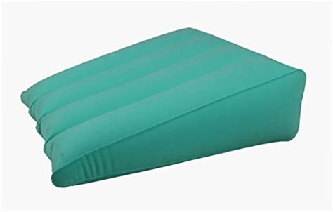 inflatable bed wedge pillow obbomed hr 7510 inflatable bed wedge pillow with velour