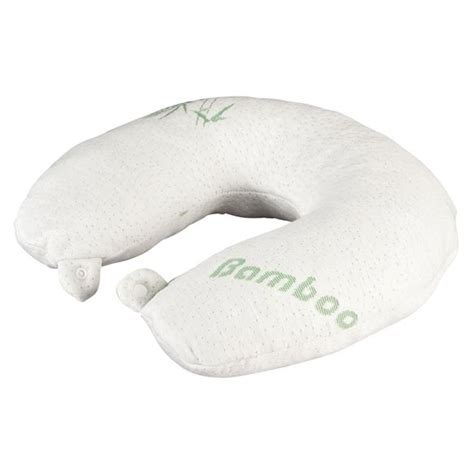 easy comfort memory foam pillow memory foam neck pillow with bamboo cover neck cushion