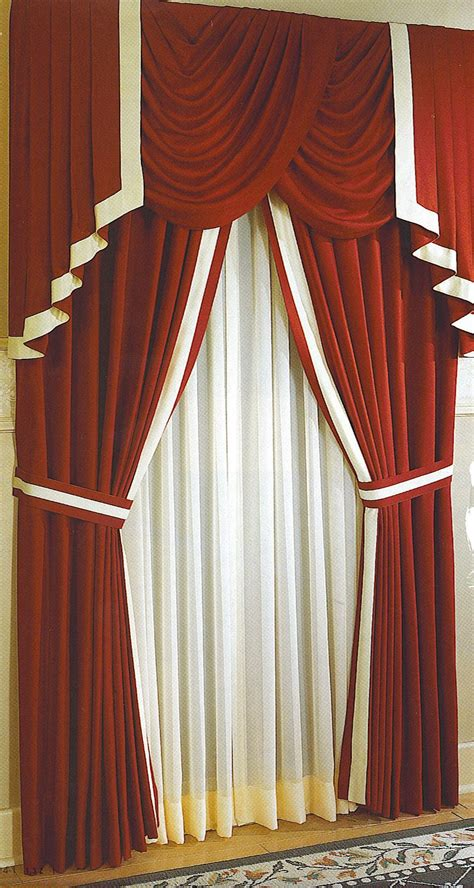 style of curtain designs interior fabulous curtain designs for windows with red