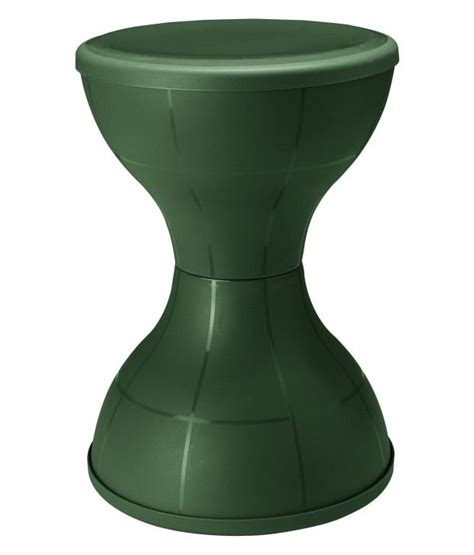 Nilkamal Stools by Nilkamal Stool Stl12 Olive Green Buy Rs 386