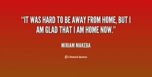 quotes by miriam makeba like success