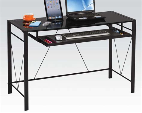 Contemporary Computer Desks Contemporary Computer Desk By Acme Furniture Ac92080