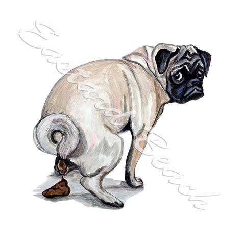 pug pooping pug printed vinyl decal stk305 5 99 eastard wildlife decals and