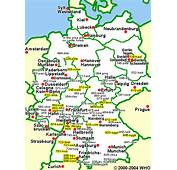Road Map Of Germany Airports Castle Hotels Airport