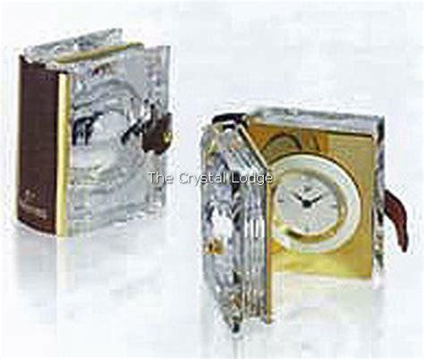 clocks a novel books swarovski swarovski secrets clock book gold 235900