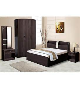 bedroom set with wardrobe nilkamal imperial wenge bedroom combo set 3 door wardrobe