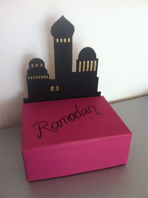 ramadan gift box idea ramadan crafts pinterest good