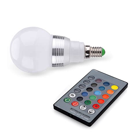 led glühbirnen farbwechsel 3w rgb led birne farbwechsel gl 252 hle gl 252 hbirne licht mit