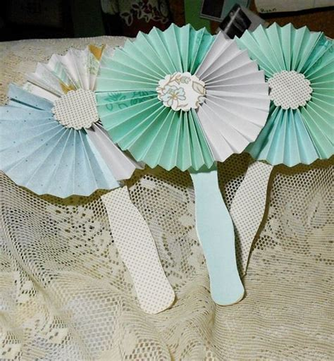 Make Your Own Paper Fan - make your own paper fans wedding ideas