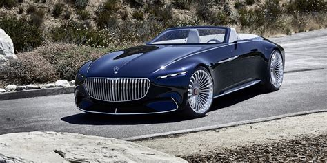 mercedes maybach mercedes maybach vision 6 cabriolet revealed photos