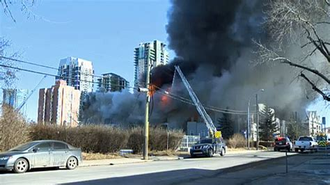 building fire  calgarys beltline ctv news