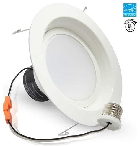 19w 6 quot dimmable led recessed led ceiling light daylight