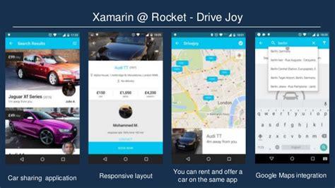 xamarin responsive layout xamarin rocket tech summit 2015