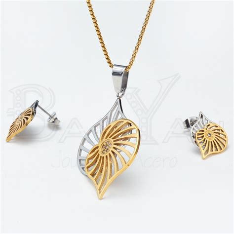 jewelry cheap aliexpress buy gold plated stainless steel leaf