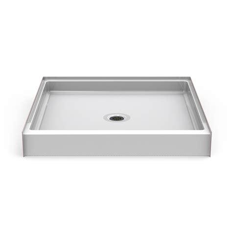 tileable shower pan 42 x 48 curbed shower pan seamless 48x48 w center drain best