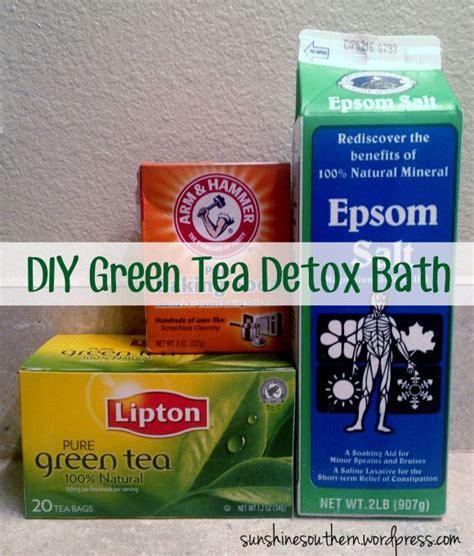 Green Tea And Detox by Green Tea Detox Bath Detox Baths Detox And
