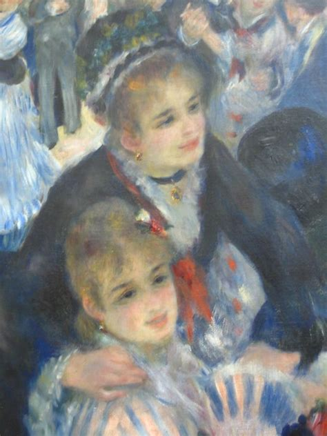 close   famous renoir painting musee dorsay paris