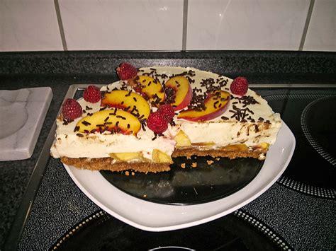 philadelphia kuchen einfach philadelphia pfirsich kuchen rezept mit bild