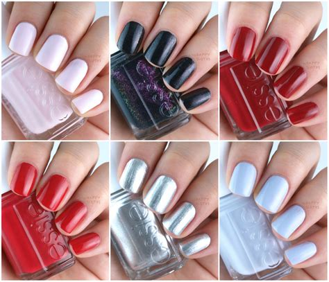 november nail color essie winter 2015 collection review and swatches the