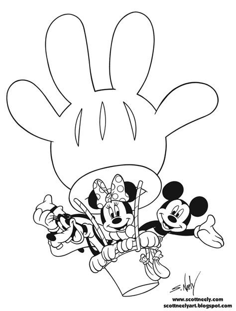 mickey mouse clubhouse printable coloring pages az