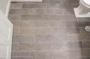 Tile Floor Bathroom Ideas Freckles Chick Plank Bathroom Floor Tiles
