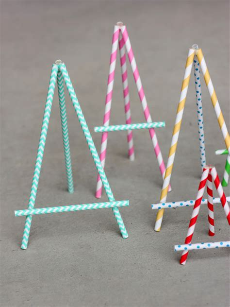 Paper Craft Straws - make your own straw handmade