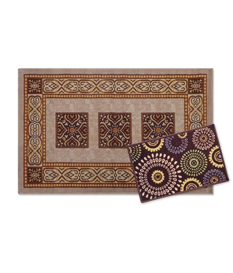 brown and purple rug status brown rug and blue door mat best price in india on 26th february 2018 dealtuno