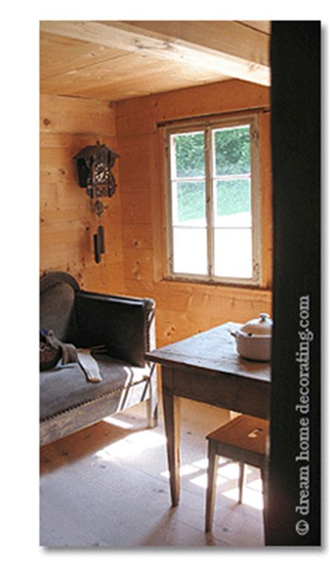 swiss country decorating swiss chalet style authentic