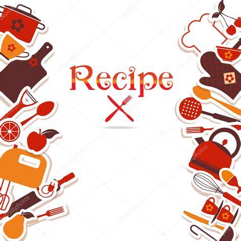 imagenes vectores cocina fondo vintage cocina vector de stock 169 olgamilagros