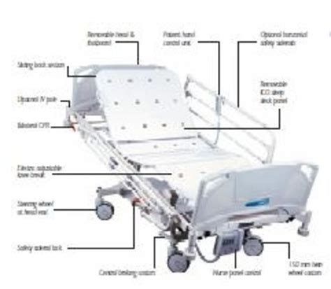 medicraft hill rom fe 5000 hospital bed independent
