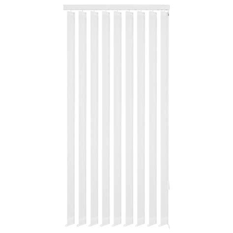 jaloezie wit vidaxl verticale jaloezie wit stof 180x180 cm online kopen