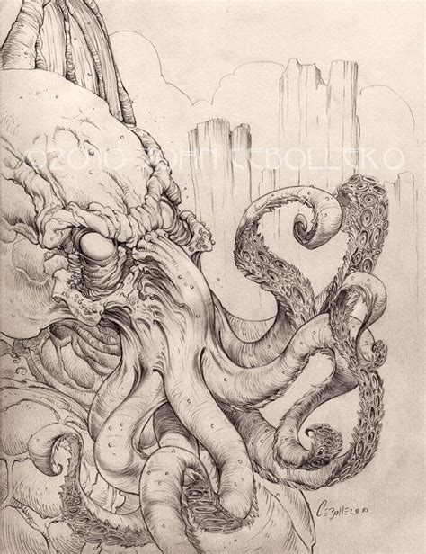 H P Lovecraft Sketches by 1000 Ideas About Cthulhu On Cthulhu