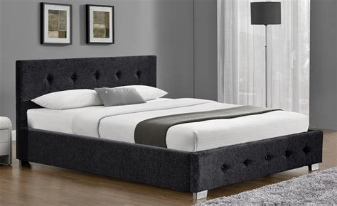 Fabric Ottoman Bed Derby Charcoal Chenille Fabric Ottoman Bed Frame Sensation Sleep Beds And Mattresses