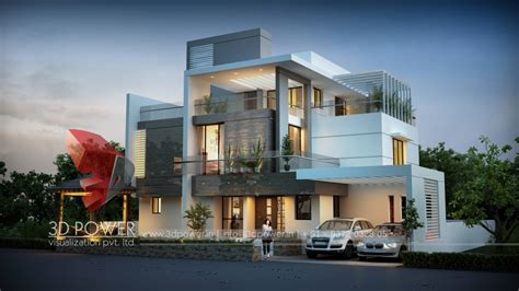 House Plan Design Online In India 3d Architectural Villa Rendering Home Design Simple