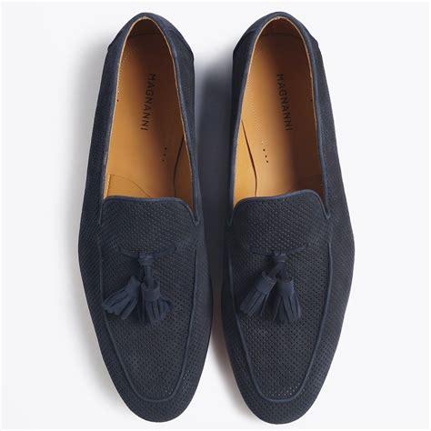 mens navy tassel loafers magnanni suede tassel loafer navy mr mrs stitch