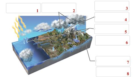 On Location The Drag by Solved This Figure Shows The Hydrologic Cycle Drag The N
