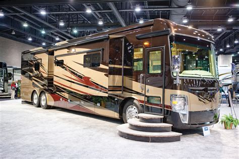 national rv trade show reveals sleek new models