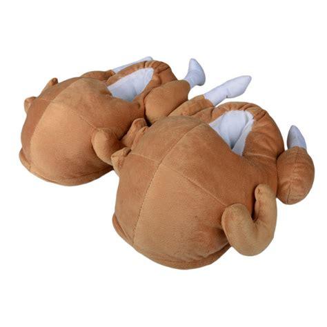 turkey slippers unisex novelty turkey slippers with non