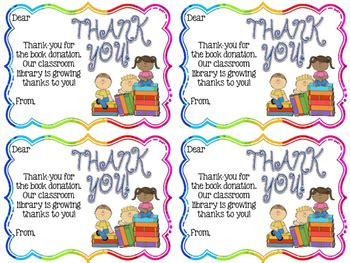 thank you card for from student template thank you notes from teachers to students or families tpt