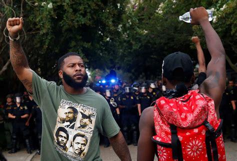 black lives matter live updates america s race crisis 2016