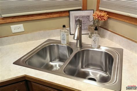 diy replace kitchen faucet diy moen kitchen sink faucet install everyday shortcuts