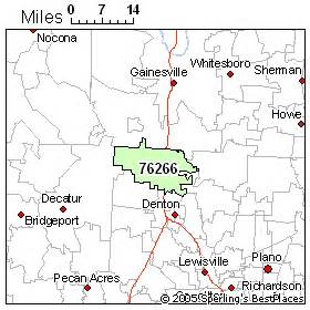 map of sanger best place to live in sanger zip 76266