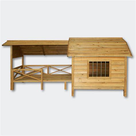 con veranda cuccia in legno con veranda animalmarketonline