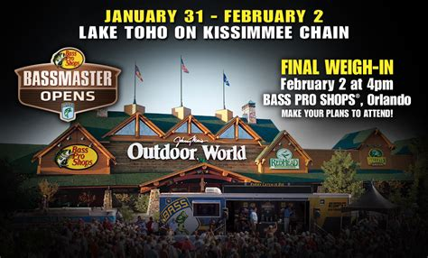 bass pro shop donation request bassmaster open orlando fl from bass pro shops