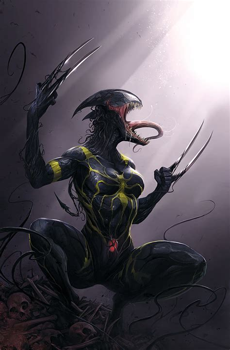 kaos wos wolverine 16 venom madness spreads across marvel s variant covers in march