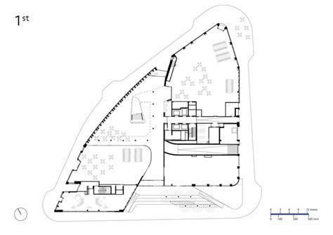 municipal floor plan bruce c bolling municipal building mecanoo sasaki
