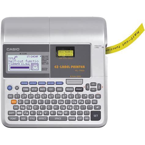 Deal Printer Label Casio Kl 120 Original casio kl 7400 labelling system rapid