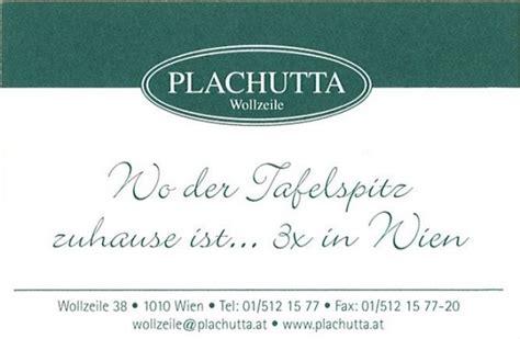 Visitenkarten Wien by Visitenkarte Plachutta Wollzeile Wien