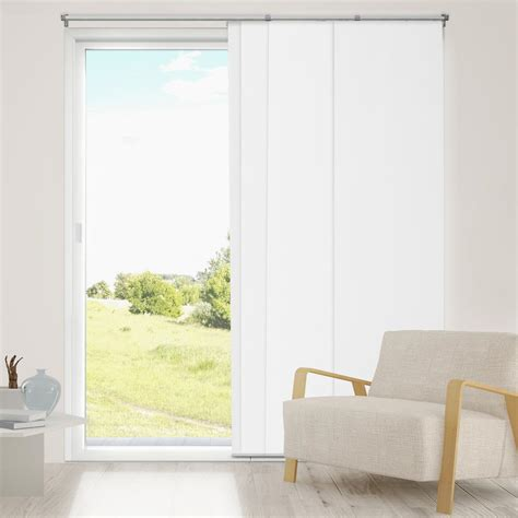 Thermal Vertical Blinds For Sliding Glass Doors Chicology Adjustable Sliding Panel Cut To Length Curtain Drape Vertical Blind Thermal Room